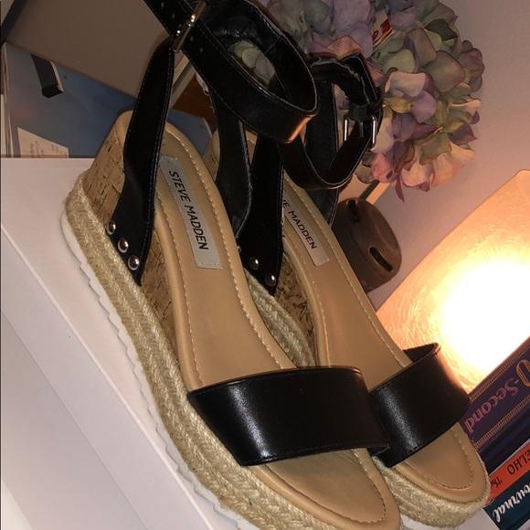 6a1bf9b3e38 Steve Madden Jaide espadrille wedge sandal